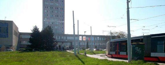 Budova, kde sídlí SPV Rytecké